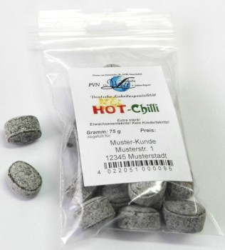 Hot Chilli * 15 Beutel à 75g